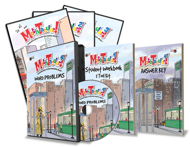MathTacular 1-4 Set